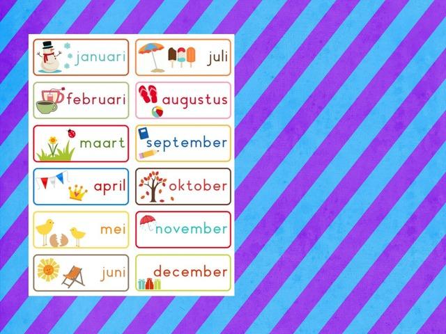 De maanden en seizoenen by Stedelijke Basisschool Hasselt