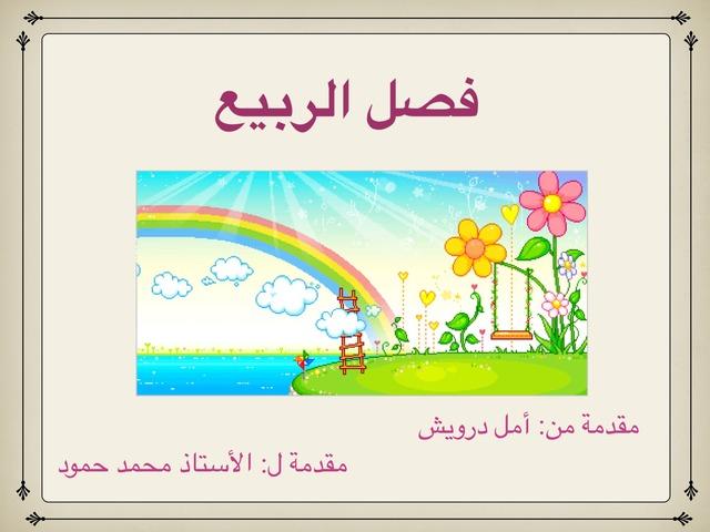 فصل الربيع by Amal Darwish