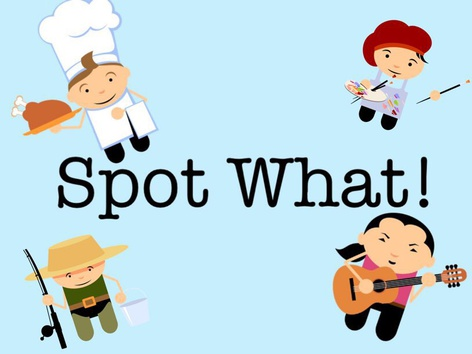 Spot What! by Charlotte OgdenMoore