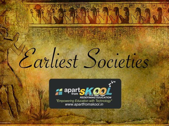 Earliest Societies by TinyTap creator