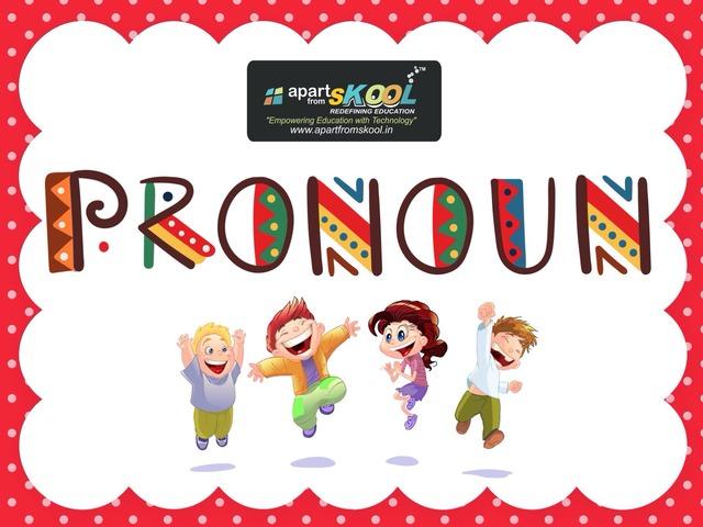 Pronoun by TinyTap creator