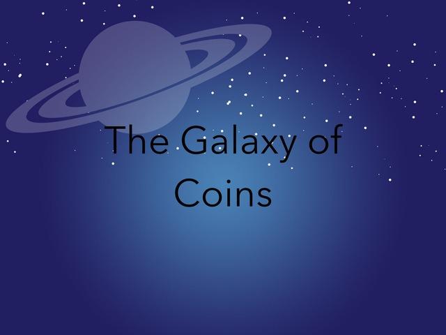 The Galaxy Of Coins by Jessica tamaccio
