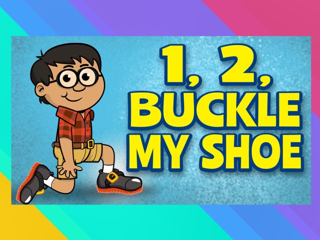 1, 2 Buckle My Shoe by A. DePasquale