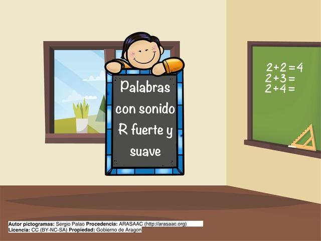 Discriminación Palabras R by Sergio Mesa Castellanos