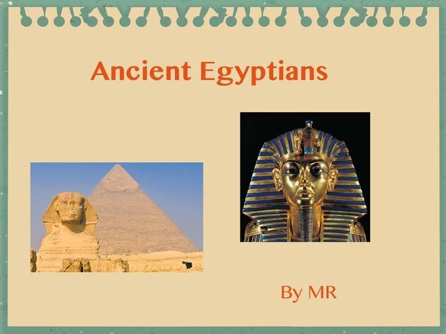 Egyptians By MR by Dave Ravenscroft