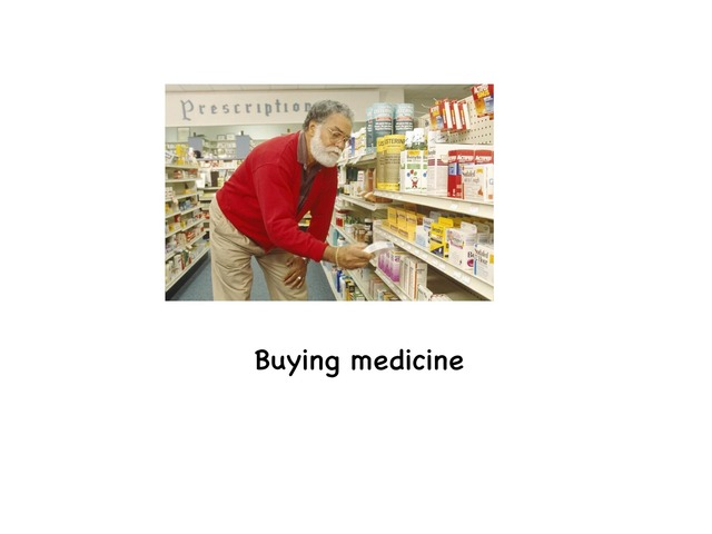 Buying Medicine by Rebecca Jarvis