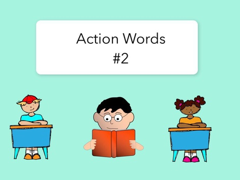 Action words #2 by Carol Smith