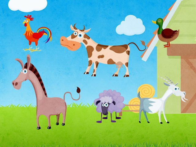 Farm Animals by Konstantin Atanasov