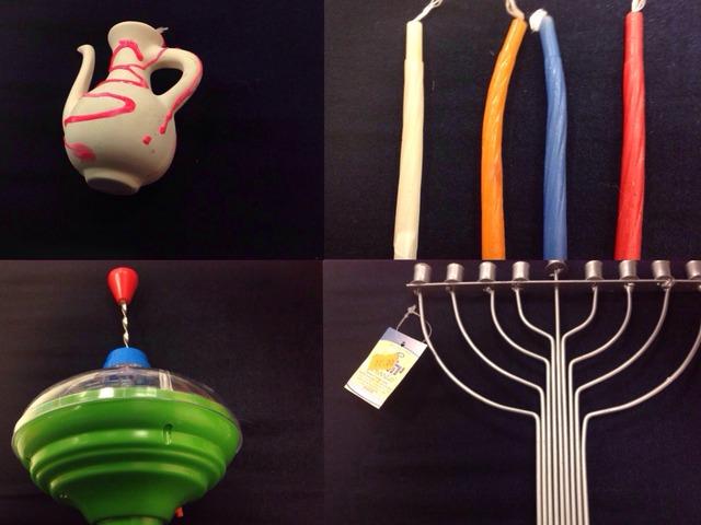 לוח חנוכה יוכבד by Arwa Qneibi
