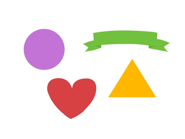 Words of shapes and colors by Wanxin Li