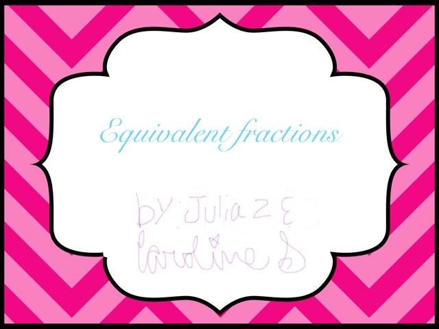 Fraction Fun by Brittney Zieller