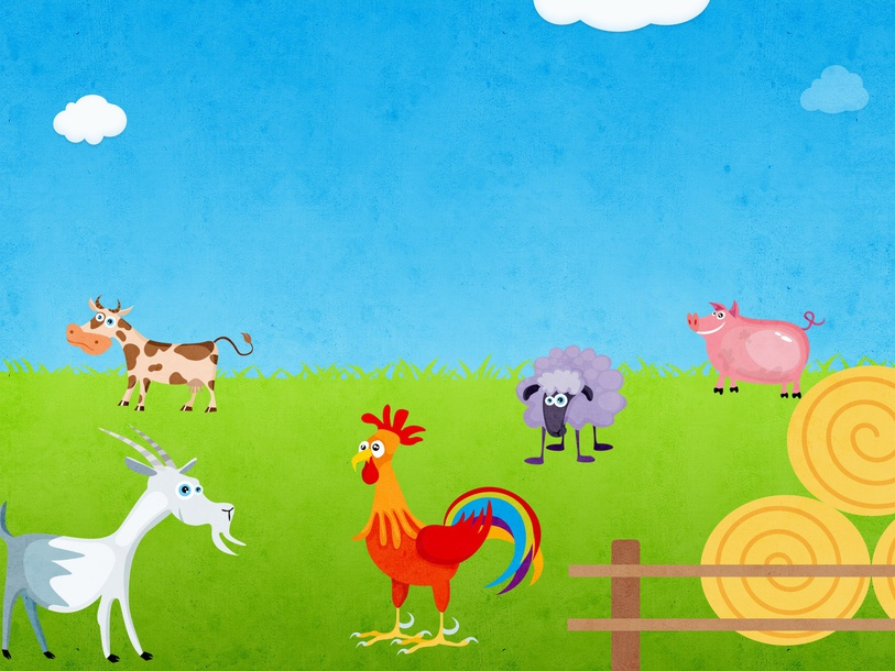 Find the animals on the farm by Cindy Derienzo