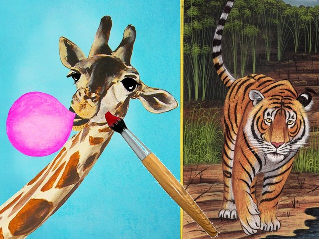 Color The Animals by Yam Goddard