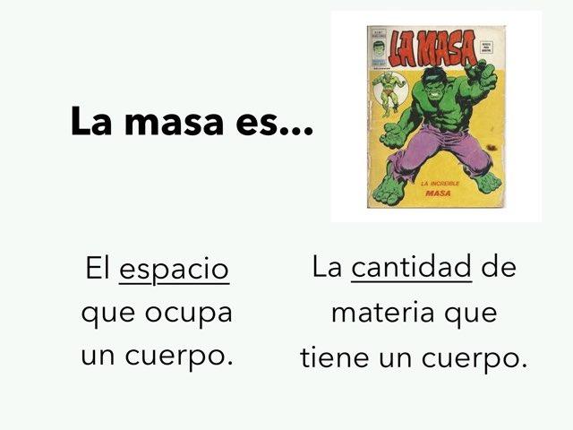 Materia y las Fuerzas by Chari Abril García
