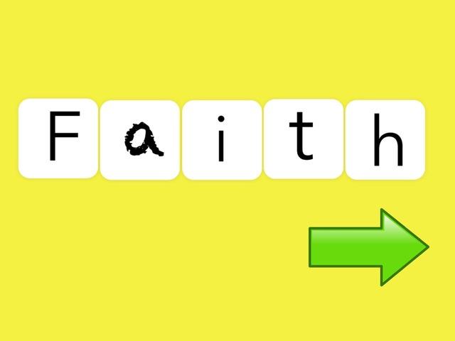 Faith: First 25 Kindergarten Words by Carol Smith