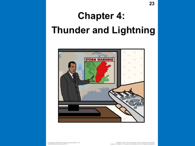 April Unique Unit Chapter 4: Thunder And Lightning  by Tanya Folmsbee