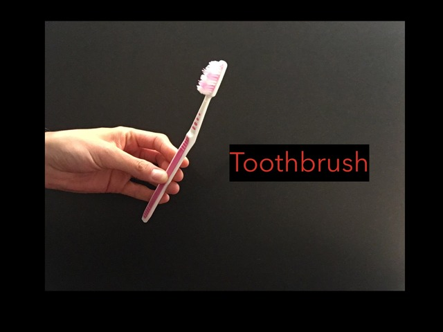 CVI Toothbrush by Vision Teacher