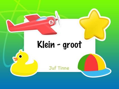 Klein - Groot by Tinne Moorkens
