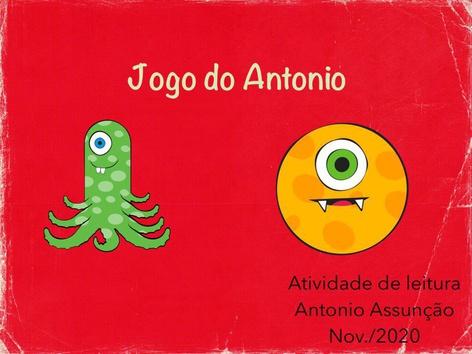 Antonio - Jogo Da Leitura  by Malu Lemos