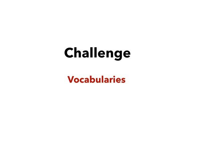 challenge  by Lama Ali