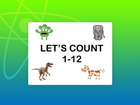 Counting 1-12 by Teresa Grimes