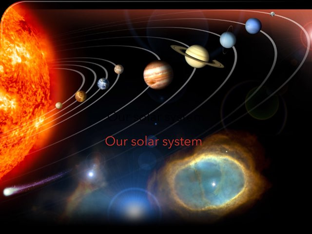 Our Solar System by Joey Earley