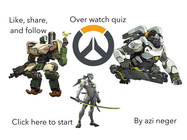 Overwatch Quiz by Azi Nege