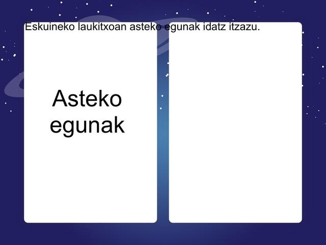 Egunak by Maritxu Leizagoyen