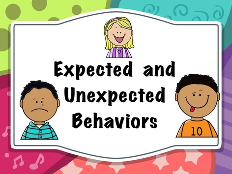 EXPECTED & UNEXPECTED BEHAVIORS by Michelle Cabalo