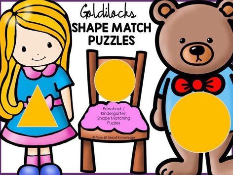 Shape Match - Goldilocks (EN UK) by Yara Habanbou