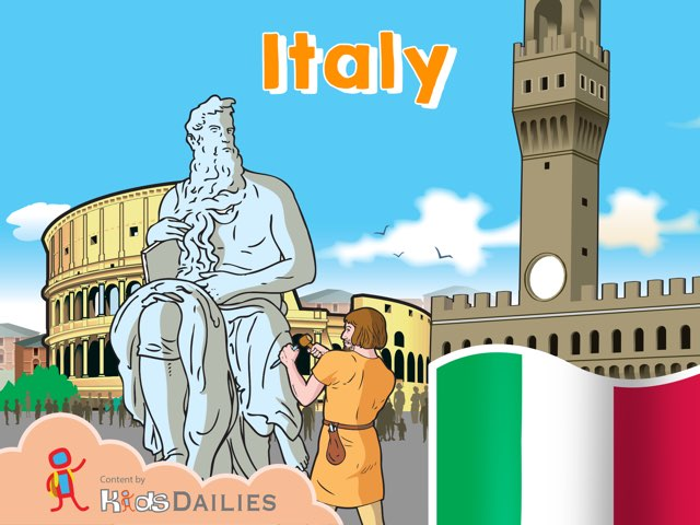 Italy by Kids Dailies