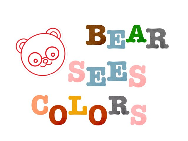 Bear Sees Colors EQs by Anna Ray