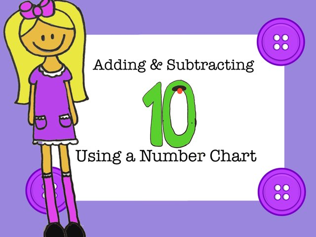 Adding And Subtracting 10 On A 120 Chart by Jennifer