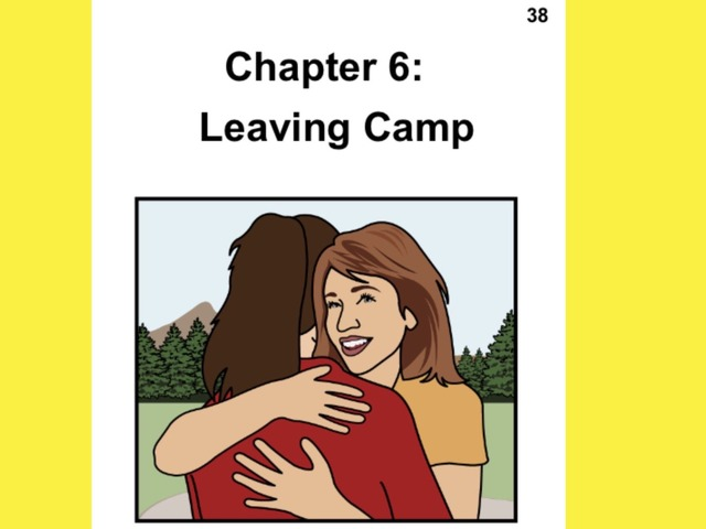 Unique Summer Unit Chapter 6: Leaving Camp  by Tanya Folmsbee
