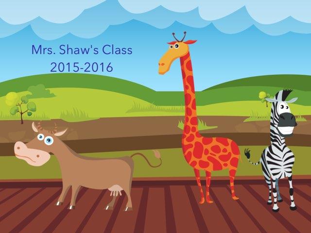 Shaw Class Animals by Linda Lonergan