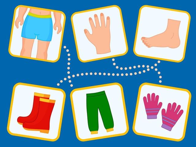 ملائمة الملابس لاعضاء الجسم by Tiny Tap