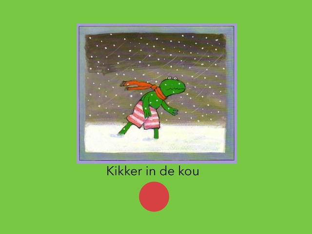 Kikker In De Kou by Yoshi Dequeecker