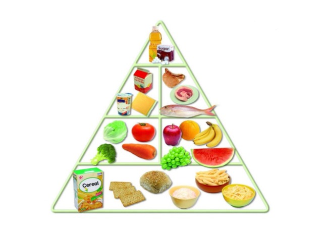 food pyramid by Shek wai kok School