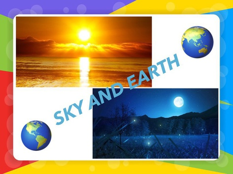 SKY AND EARTH  by Claudia Sawada