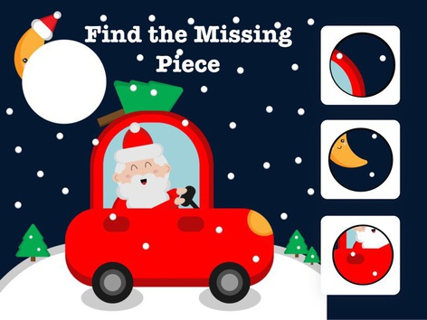 Christmas Find The Missing Piece by Hadi  Oyna