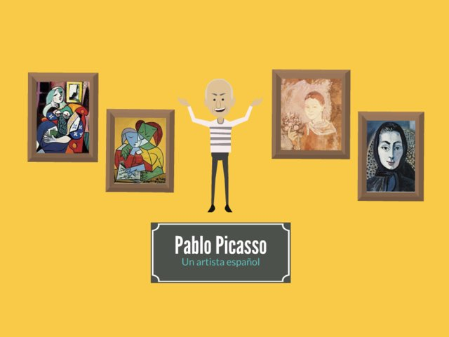 Pablo Picasso by Rodica Harvey