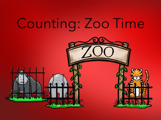 Counting: Zoo Time by Carol Smith