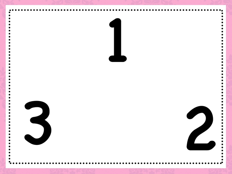 Number recognition 1-20 by Cindy Derienzo