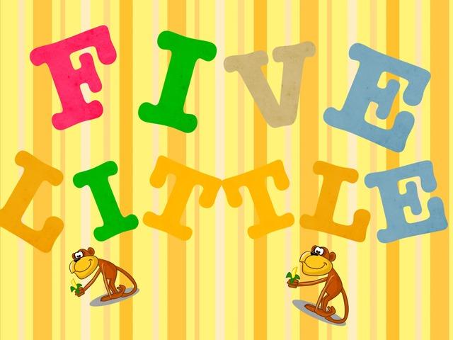 Five Little Monkeys 🐵🐵 by Riham  Marwan