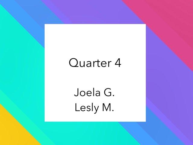 Geometry Quarter 4 by Joela  Goga