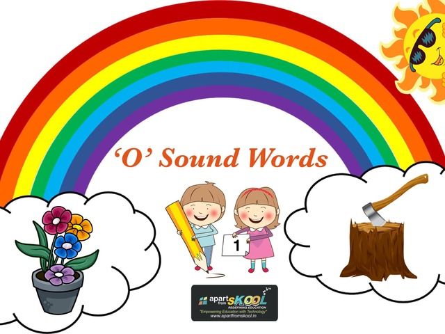 """""""O"""" Sound Word by TinyTap creator"""