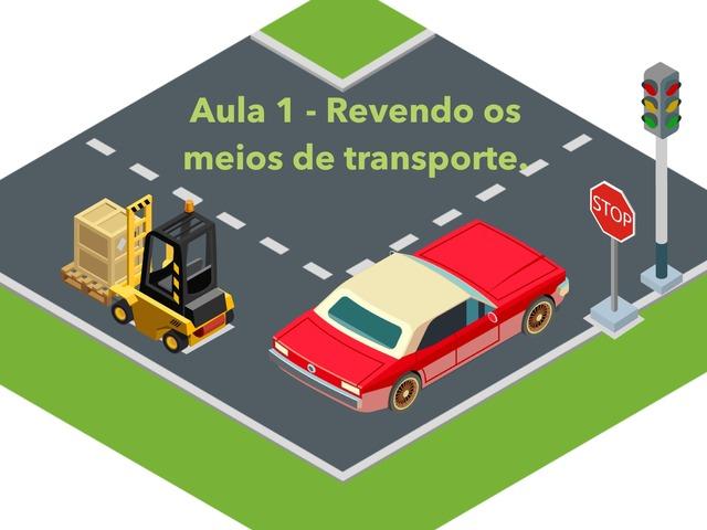 Meios de Transporte by Isabel Mello Daud
