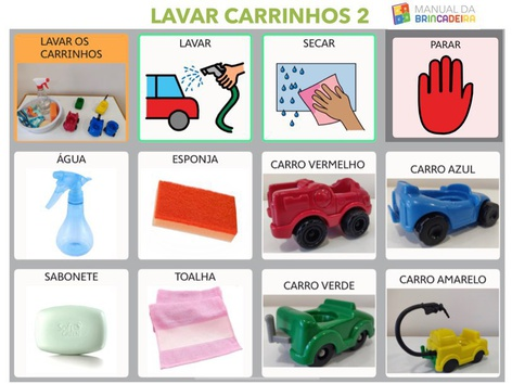 LAVAR CARRINHOS 2 PRANCHA - Manual Da Brincadeira  by MIRYAM PELOSI