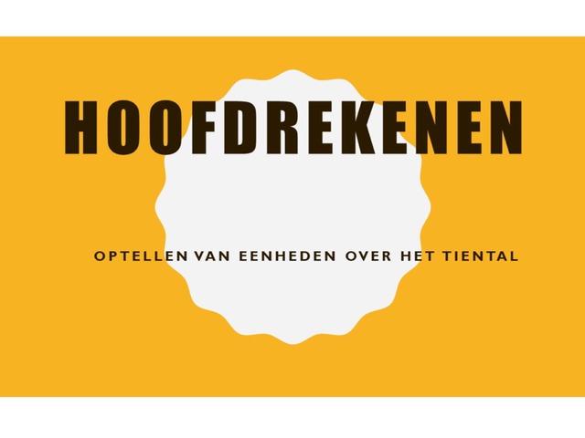 Optellen Van Eenheden Over Het Tiental by Stefanie Rigolle