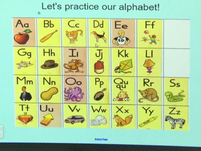 Let's Practice Alphabet by Aimee Cummins